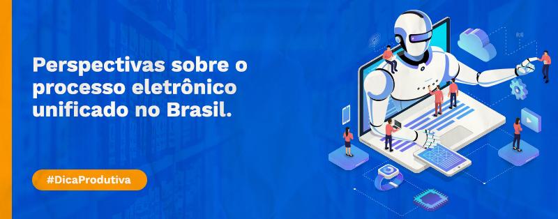 Perspectivas sobre o processo eletrônico unificado no Brasil